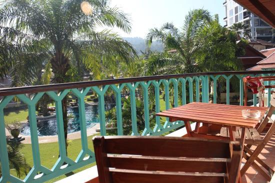 The Pe La Resort: Our balcony