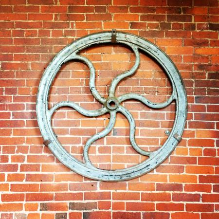 Frontier Cafe: Mill wheel