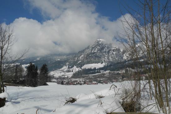 Bad Hindelang, Γερμανία: Blick auf Bad Oberdorf