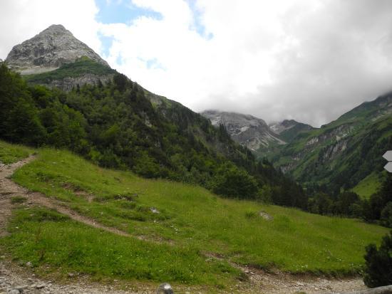 Hinterstein, Niemcy: Blick von der Alpe
