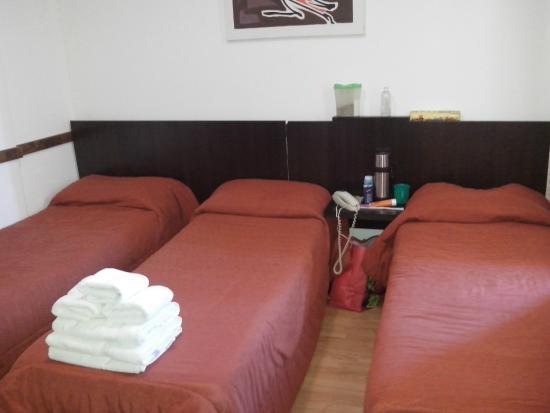 Eco Ski Hotel : Habitación pequeña pero cómoda
