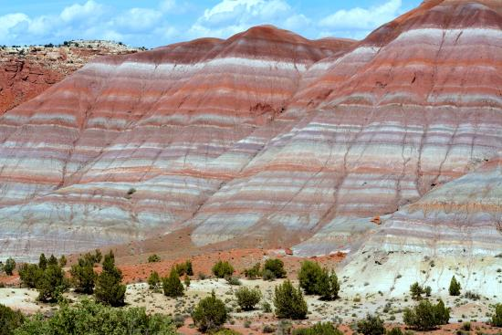 Paria River Canyon: Die farbigen Badlands im Paria Canyon