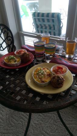 Newport, วอชิงตัน: Lovely breakfast!