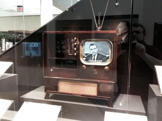 Walter Cronkite Memorial: The Kennedy Assassination original broadcast as seen on period technology.