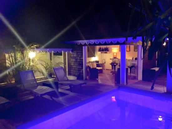 Salines Garden Cottages : lovely little pool