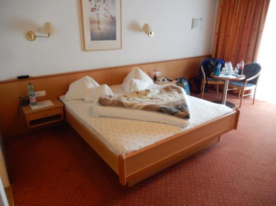 Hotel Hochzillertal: categorie A kamer dubbel bed