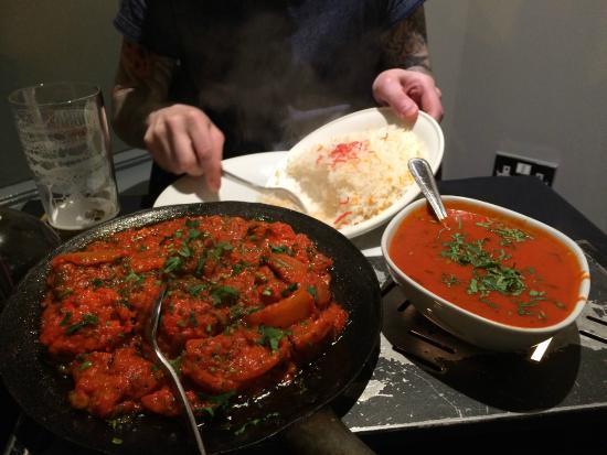 Alessi Indian Restaurant: .