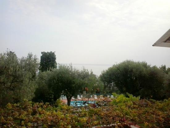Hotel El Chico : vue sur la terrasse du restaurant