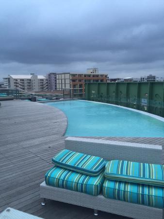 AHA Gateway Hotel: Pool roof top