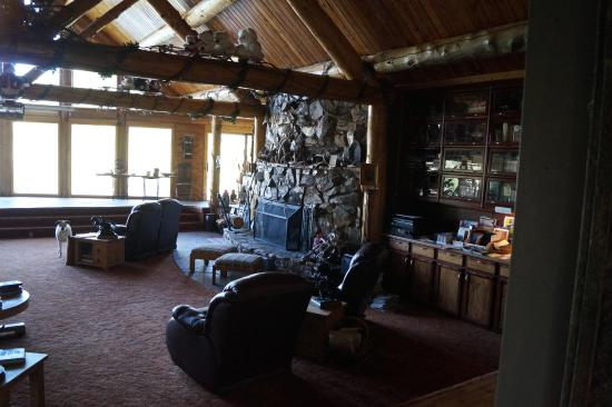 Encampment, WY: Main Lodge Room