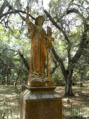 Micanopy Cemetery: tombstone