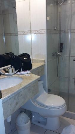 Eurotel El Bosque: banheiro