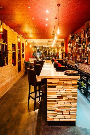 Cellar Magneval Book Bar Inviting And Welcoming Quirky Interior Design