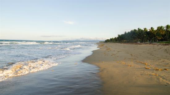 Hotel Celuisma Cabarete: Beach before sunset