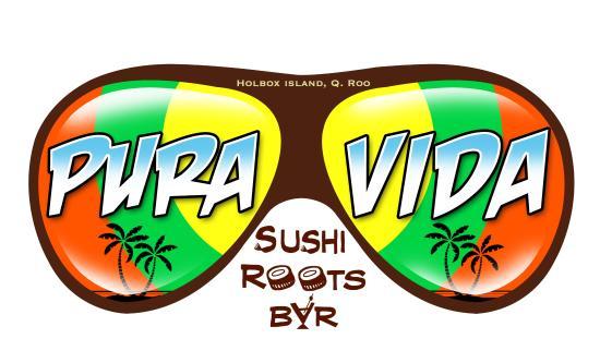 Pura Vida Sushi & roots bar: Nuestro loco