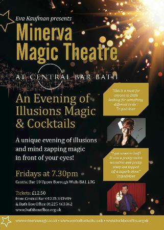 Minerva Magic Theatre : Conjuring and Cocktails