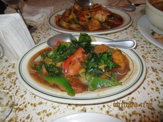 Thai Orchid : food