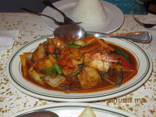 Thai Orchid: food1