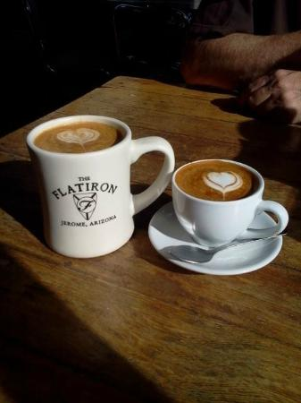 The Flatiron: Almond Milk Latte and Macchiato