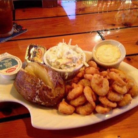 Blackbeards Grill and Grog : Fried Shrimp Plate