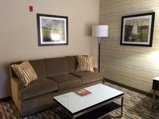 Holiday Inn Express Warwick Providence Sofa Bed