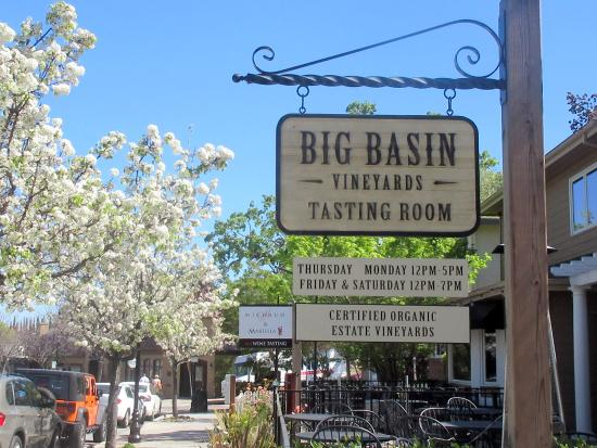 Big Basin Vineyards Tasting Room