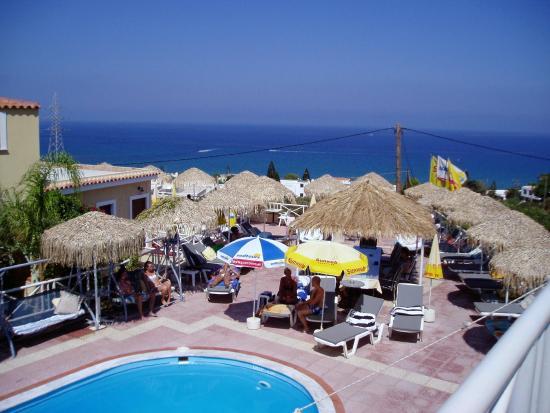 Olympia SunClub: uitzicht op zee