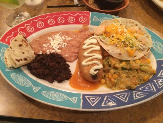 La Olla Mexican Cafe: The #1 Combo Platter