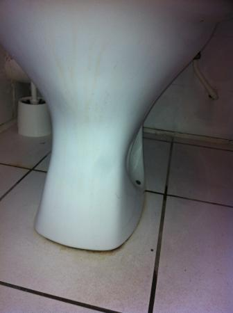 Hotel 261 : Dirty toilet, complained about it but it still wasnt cleaned