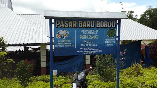 Pasar Baru (New Market) Bobou, Bajawa