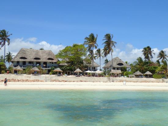 Blue Oyster Hotel Terrace Restaurant: visto dal mare