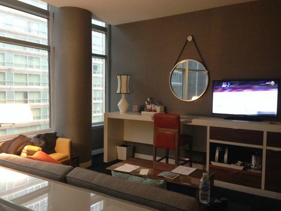Kinzie Hotel: Sitting area