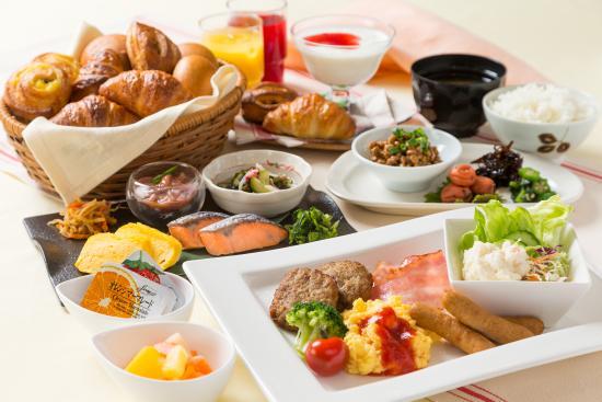 Vessel Inn Hiroshima-Ekimae : 朝食