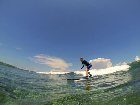 Newbro Surfing: First time!!! Thanks guys xx