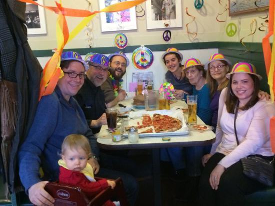 Frank Pepe Pizzeria Napoletana : Birthday party at Pepe's