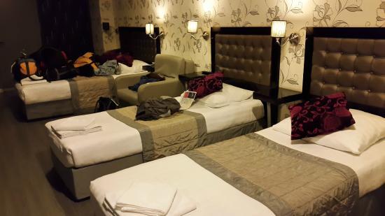 Hotel Hermitage Amsterdam: habitacion para 5