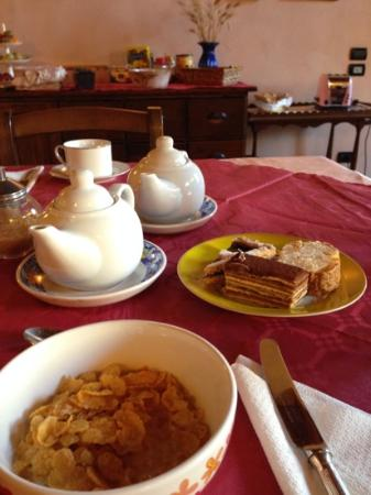 De' Benci Bed and Breakfast in Firenze: Breakfast!