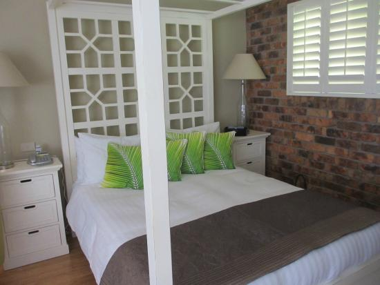 Ballina Palms Boutique Motel: Comfortable bed/quality linen