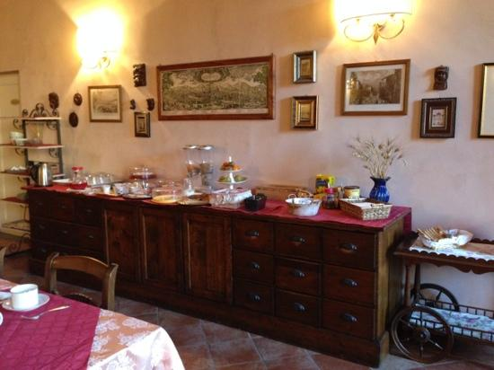De' Benci Bed and Breakfast in Firenze: Breakfast room