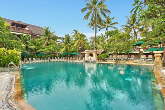 Frangipani Pool at Legian Beach Hotel