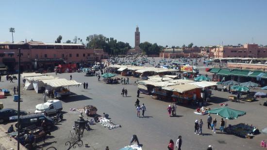 Riad Al Tainam: place djela el fna
