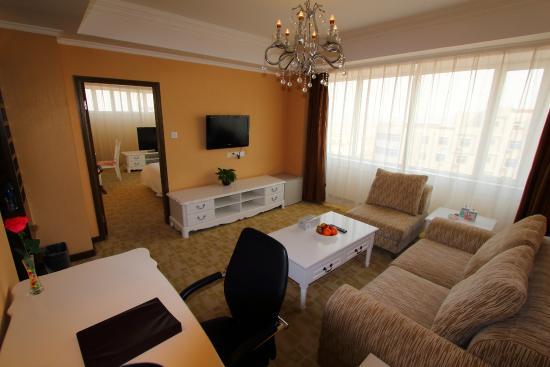 Tianjin Binhai International Airport Hotel: Suite Room