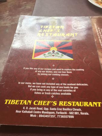 Tibetan Chefs Restaurant: Great food. For a light lunch