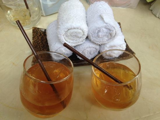 Rest Detail Hotel Hua Hin: Welcome drink