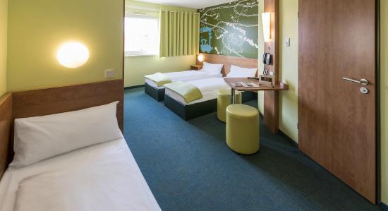B&B Hotel Augsburg: Familienzimmer für 3 Personen
