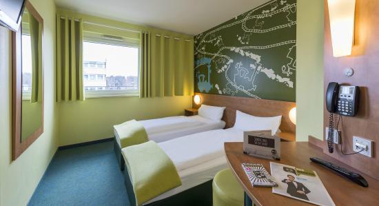 B&B Hotel Augsburg: Zweibettzimmer