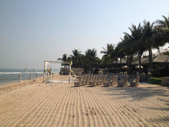 Rest Detail Hotel Hua Hin: หาดทราย วันนี้เอามาจัดงานแต่ง