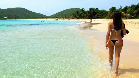 Great Local Food Picture Of Flamenco Beach Culebra Tripadvisor