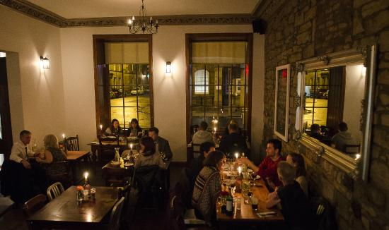 The Compass Leith: A busy steak night