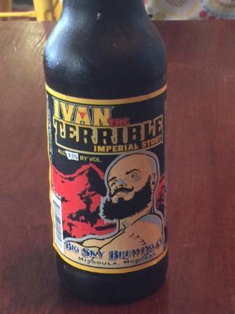 Mooshka: Ivan the Terrible beer